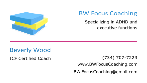 logo w contact info and exec funct 6-8-18 Bev on left Coaching on right